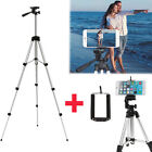 Professional Camera Tripod Stand Holder Mount for iPhone 8 7 Samsung Phone+ Bag