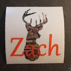 3 inch Camo Camouflage Deer Head Name M1 M3 Decal Sticker for YETI RTIC Tumbler