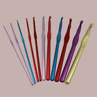 Comfort crafts handle Crochet Hooks Ended Rainbow Aluminium long 2.0mm-10.0mm