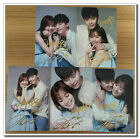 Signed Han Hyo Joo Lee Jong Suk in-album W-Two Worlds Photo SET Hand Autograph