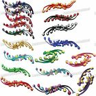 18color Phoenix tail silk Satin Sewing Chinese Frog Closure Knot Fastener Button