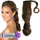 """16""""-24"""" Loose Wavy Wrap  Around High  Ponytail Clip In Real Human Hair Extension"""