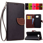 Luxury Fashion Flip PU Leather Card Cover Case Wallet For Samsung Galaxy S5 S4