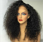 Hot Sale130% density deep italy curly Brazilian Human Hair full/front lace wigs