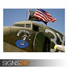 WHATS UP DOC (AA074) AIRCRAFT POSTER - Photo Picture Poster Print Art A0 to A4