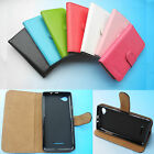 "For 5"" ZTE Blade A450-Wallet Folder Stand Flip PU Leather Case Cover 4G LTE"