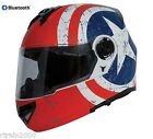 Torc Avrnger T27 Modular Dual Visor Helmet Rebel Star with Built In Bluetooth
