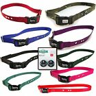 "Sparky Pet  1"" Replacement Dog Collar 3 Hole 2 High Tech RFA 67 Batteries"