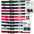 """Sparky PetCo 1 """" Replacement Dog Collar 3 Hole with RFA 529 + 2 High Tech RFA 67"""