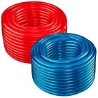 "1"" ID x 1.25"" OD - 50 ft, Translucent Red or Blue Flexible PVC Vinyl Tubing"