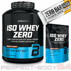 (20,18€/kg) 2,27kg + 500g BioTech USA ISO WHEY ZERO Isolate Protein + Riegel