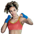 Shock Absorber Active Multi Sports Bra S4490. Sizes 32-40 B-HH.  Red/Lime.