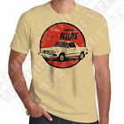 Subaru Brat Mens 100% cotton T-shirt Personalised plate opt. +7 colours of Tee