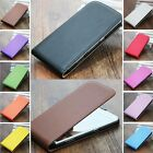 For Huawei & HTC Series Vertical Freak out Cover Genuine Real Leather Phone Case