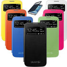 Flip PU Leather Smart Wake View Case Cover For Samsung Galaxy S4 i9500 Hot