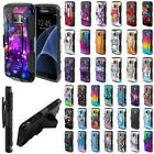 where can i buy samsung galaxy s4 unlocked - For Samsung Galaxy S7 G930 Design Holster Hybrid Hard Rubber Silicone Case Cover
