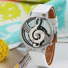 NEW Fashion Women's Leather Band Stainless Steel Sport Analog Quartz Wrist Watch