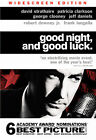 Good Night, And Good Luck (DVD, 2006, Widescreen) David Stratharn *NEW*