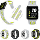 Replacement Sports Rubber Bracelet Strap For Apple Watch Series 2 /1 Watch Band