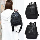 Women's Small Faux Leather Convertible Backpack Rucksack Shoulder bag Cute Purse