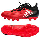 adidas X 16.2 HG Football Shoes Soccer Cleats Red/White/Black BB6061