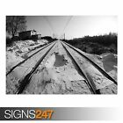RAILWAY LINES 1 (AB044) TRAIN POSTER - Photo Picture Poster Print Art A0 to A4
