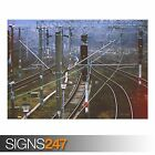 RAILROAD (AB036) TRAIN POSTER - Photo Picture Poster Print Art A0 A1 A2 A3 A4