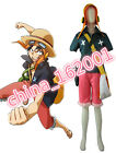 hot! Anime Film One Piece Strong World Monkey·D·Luffy cos costume Custom!