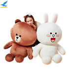 Giant 39'' Plush Brown Bear and Rabbit Stuffed Toy Doll 100cm Valentines Gift