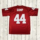 Forrest Gump #44 Football Jersey Stitched Tom Hanks Movie Red Mens Throwback New