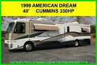 1999 Fleetwood American Dream Used Diesel Pusher Motor Home Coach RV Cummins MH