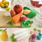 1pc Handmade Crocheted Knitted Stuffed Fruit/Vegetable Toy Doll Photography Prop