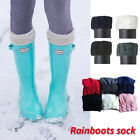 Hot knit Cuff Welly Long Socks quote For Tall Rain Boots Liners Socks /6 color