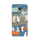 For Meizu Pro 6 M3 Note Mini Case Soft TPU Back Cover Cell Phone Shell Cats Play