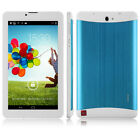 """7"""" Tablet PC Android MTK6572 8GB Dual Core 2MP Bluetooth WIFI 3G Phone MID 1.2Gz"""