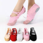 Child Adult Canvas Ballet Dance Shoes Slippers Pointe Dance Gymnastics 23 Sizes