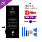 2 X Replacement Internal Battery for Apple iPhone 6 / 6 Plus /6s High Capacity