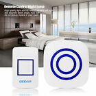 Remote Control Stepless Dimmer LED Light Night Light In Wall Lamp US/EU New