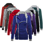 ANL Womens Winter Warm Hoodie Hooded Sweatshirt Sport Zipper Coat Jumper Jacket