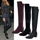 AnnaKastle New Womens Sexy Slim Stretch Over the Knee Boots US 5 6 7 8