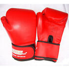 Pro Boxing Gloves Training Sandbag Leather Punching Punch Bag Sparring