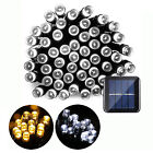 Solar Christmas String Lights 39ft 100 LED Outdoor Waterproof Fairy Party Light