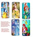 Disney Ariel Belle Cinderella Snow white hard back phone case iphone Samsung HTC