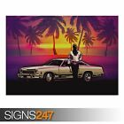 DRIVE (AB059) MOVIE POSTER - Photo Picture Poster Print Art A0 A1 A2 A3 A4