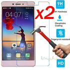 2x 9H Premium Tempered Glass Screen Protector Film For Lenovo K6 / K6 Note Power