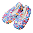 Snoozies! Foot Coverings (adult Size) Flower Pattern Three Color Random Delivery