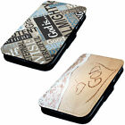 God Love Designs Printed Faux Leather Flip Phone Cover Case Papel Pope Bible
