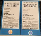 2x FRONT OF STAGE 1 (FOS 1) Tickets für Guns N' Roses am 13.06.17 in München