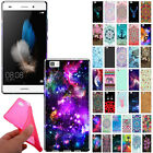 For Huawei P8 Lite Design TPU Flexible Silicone Gel Skin Rubber Back Case Cover $6.98 USD
