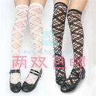 LOLITA The sleeping beauty beautiful Crystal Glass Hollow out Lace stockings